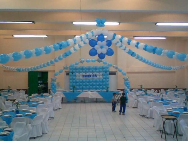 decoracion con globos para graduacion Nocturnar globos Pinterest