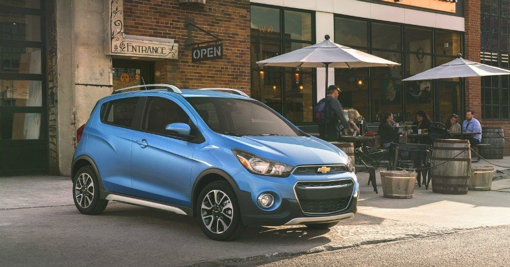 2017 Chevrolet Spark The Little Car With The Big Personality