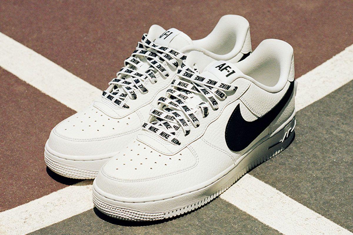 Nike Air Force 1 Low NBA 'White/Black' EU KicksSneaker Magazine