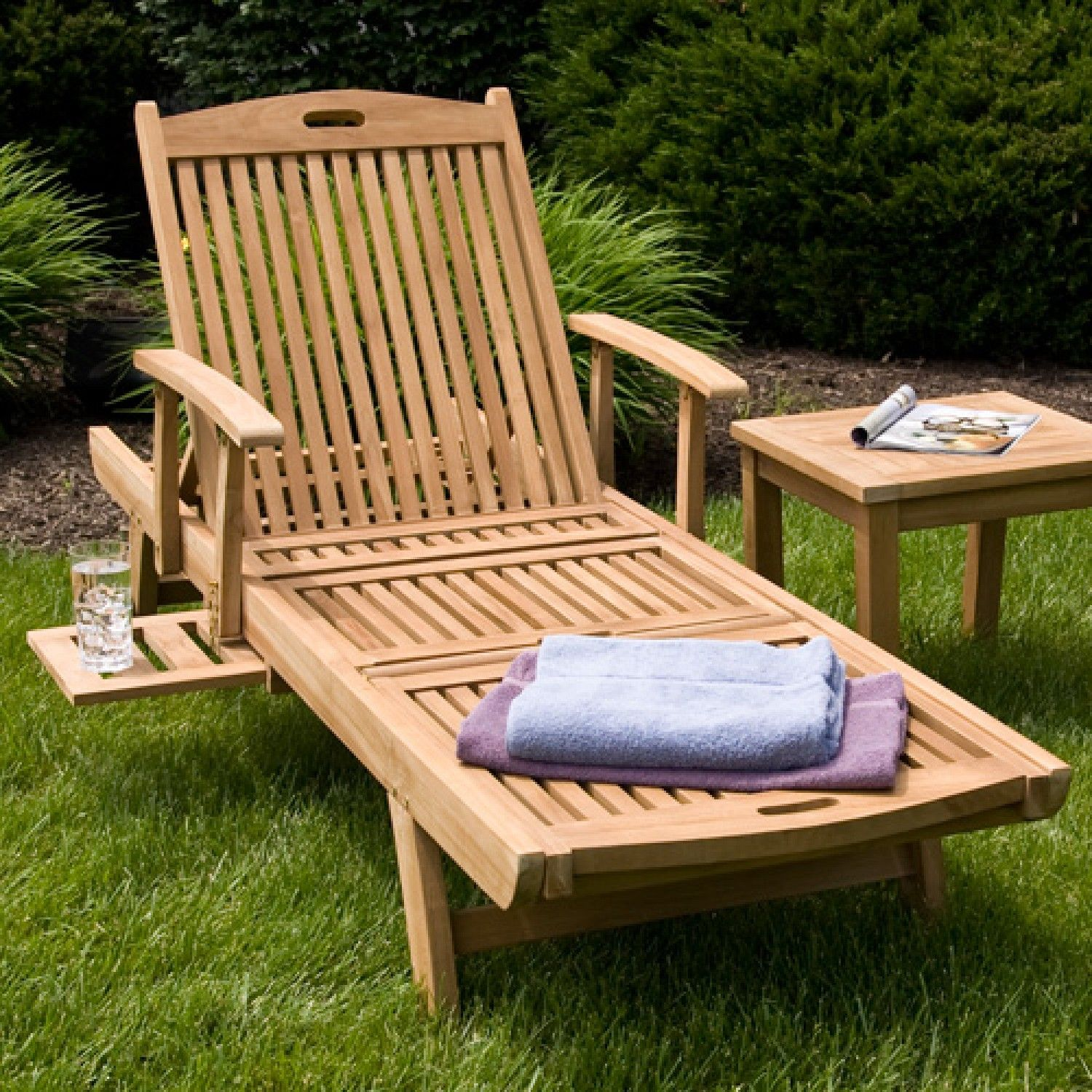 teak chaise lounge chair outdoor chaise lounges outdoor