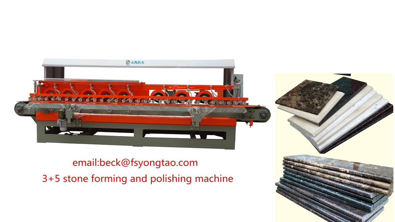 Stone Forming And Polishing Machinecnc Control Formin Waterjet