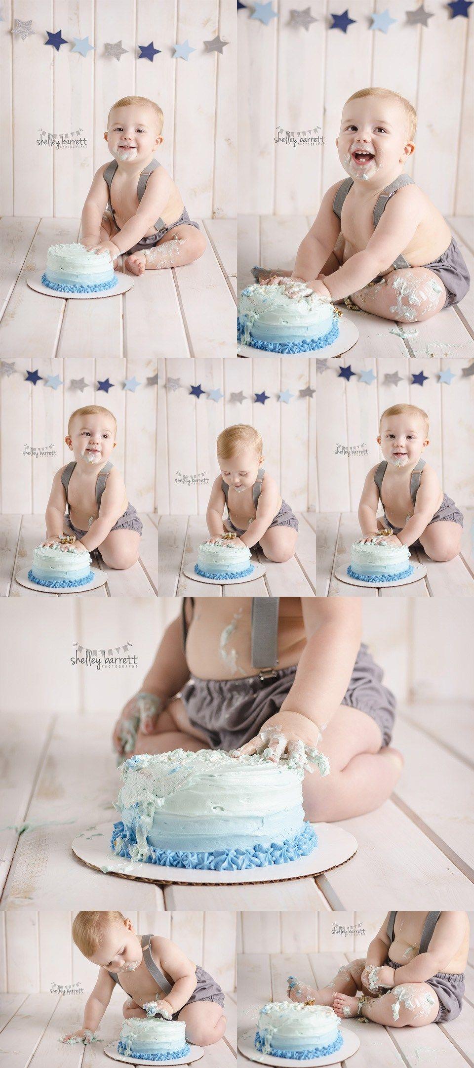 1 Year Old Baby Boy Cake Smash Photos Baby 1year Cakesmash