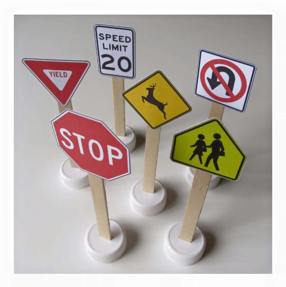 Traffic signs printable | Crafts for kids, Activities for ...