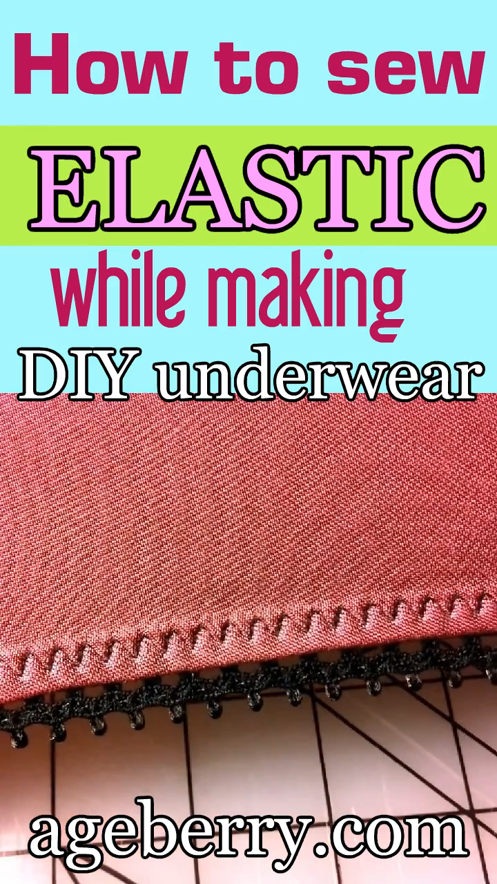 Photo of Sewing tutorial: DIY underwear from natural silk jersey fabric plus how to sew elastic