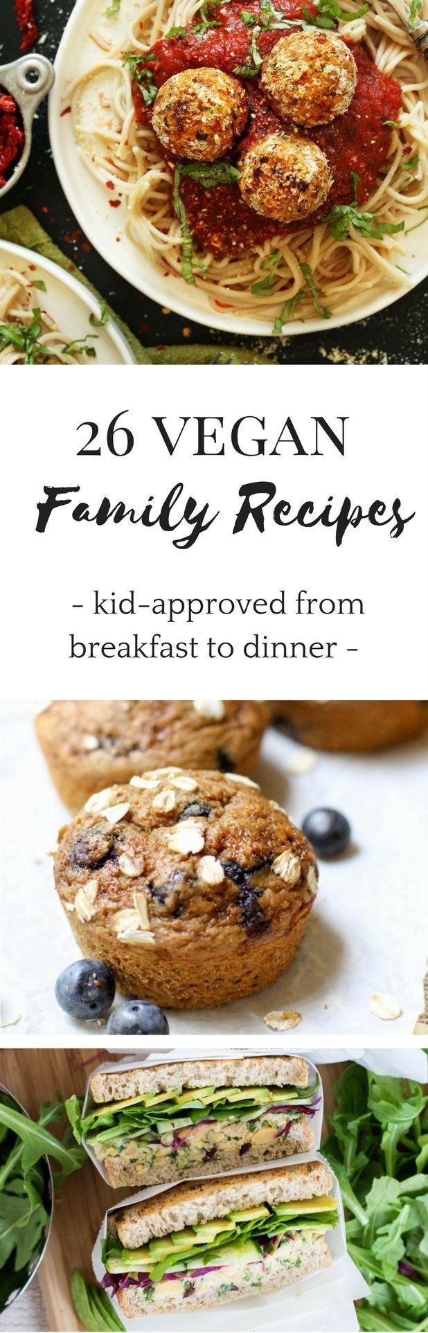 26 Healthy Vegan Recipes For Kids Families Vegan Easter