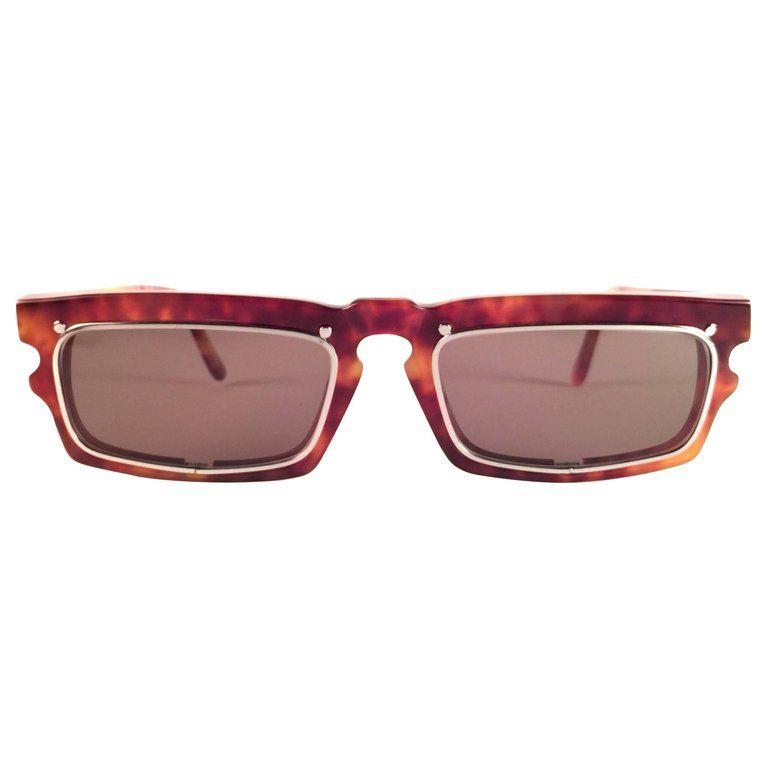 58eed0344ab78 1stdibs Vintage Idc 767 Tortoise Lenses 1980 France Sunglasses ...