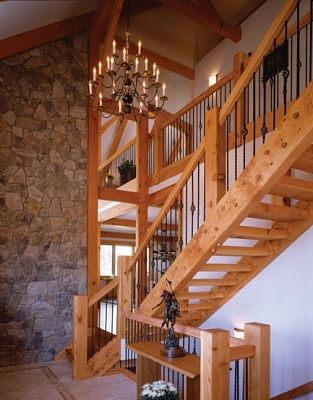 Best Post And Beam Staircases Attached Images Pole Barn 400 x 300