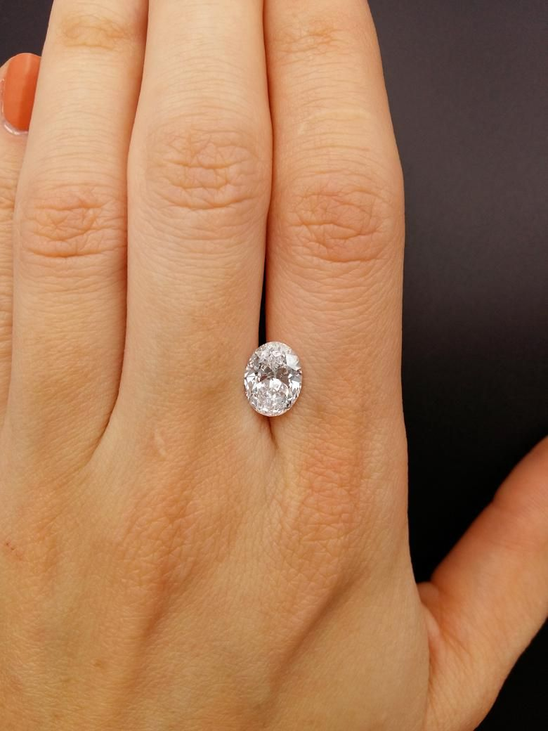 Gorgeous Oval Shaped 2.02 ct Diamond, GIA Certified | I Do Now I Don't  #idonowidont