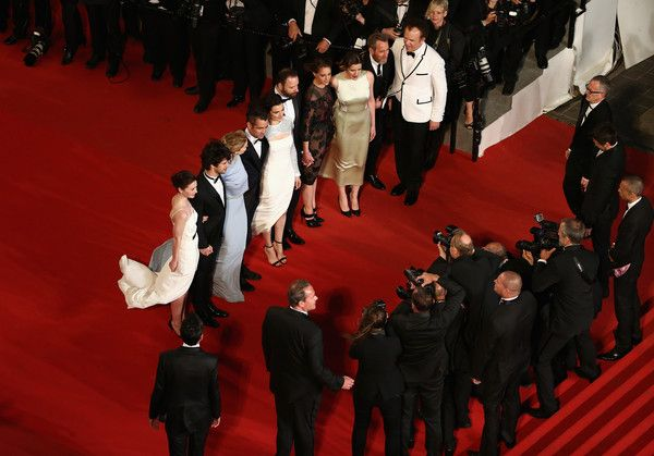 "Jessica Barden Photos Photos - Jessica Barden,Ben Whishaw,Léa Seydoux,Colin Farell,Rachel Weisz,Yorgos Lanthimos,Ariane Labed,Angeliki Papoulia and John C. Reilly attend the Premiere of ""The Lobster"" during the 68th annual Cannes Film Festival on May 15, 2015 in Cannes, France. - 'The Lobster' Premiere - The 68th Annual Cannes Film Festival"