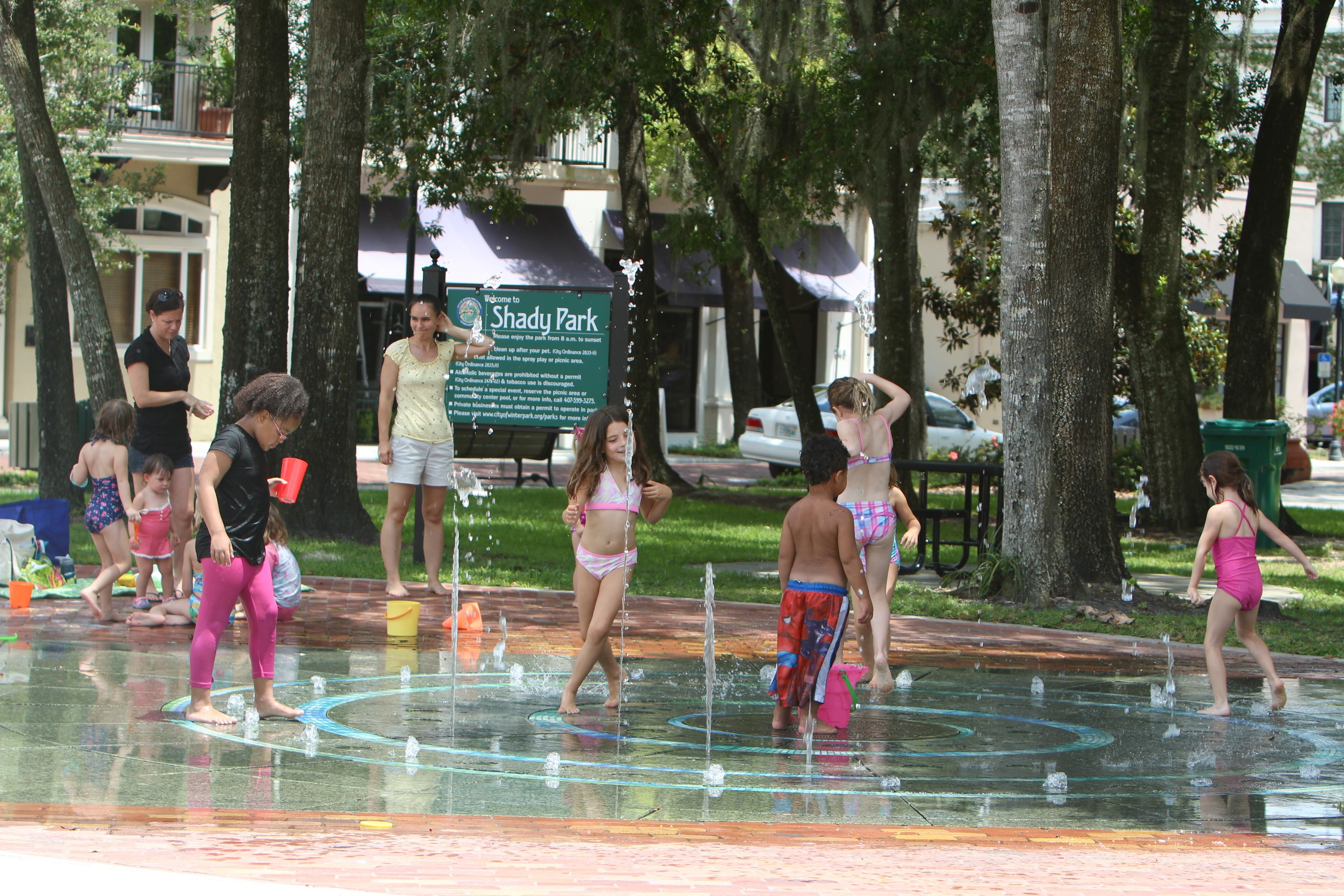Splash Pad Winter Park