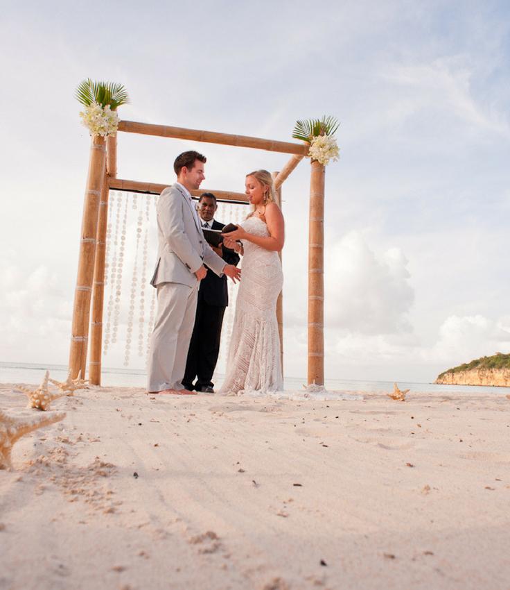 Sandals Real Wedding At Sandals Grande St Lucian Destination Beach