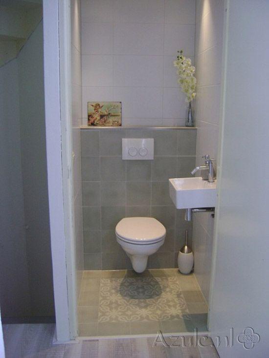 Welke tegels vind jij het mooist in een toilet toilet pinterest portugese tegels tegels - Tegels wc design ...