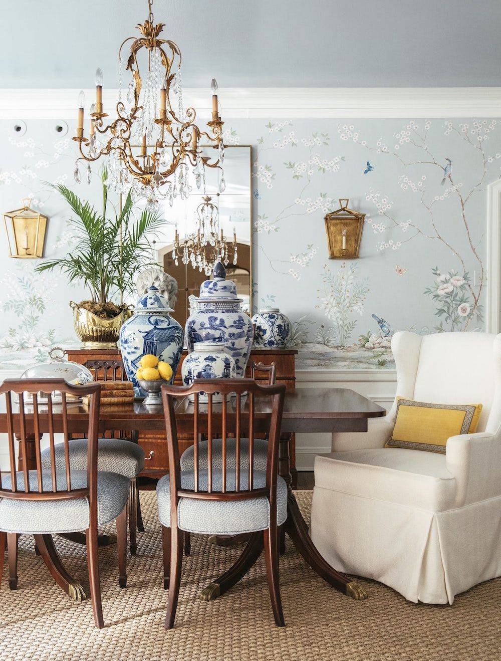 Affordable Chinoiserie Wallpaper Panels & Murals + Sources ...