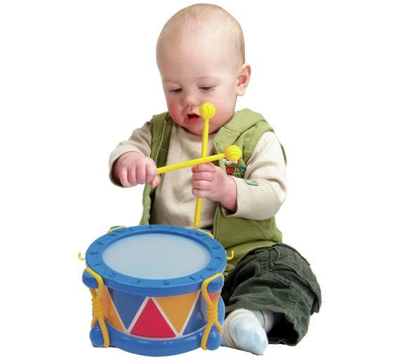 Buy Halilit Baby Drum at Argos.co.uk - Your Online Shop for Baby musical toys, Baby toys, Baby and nursery.