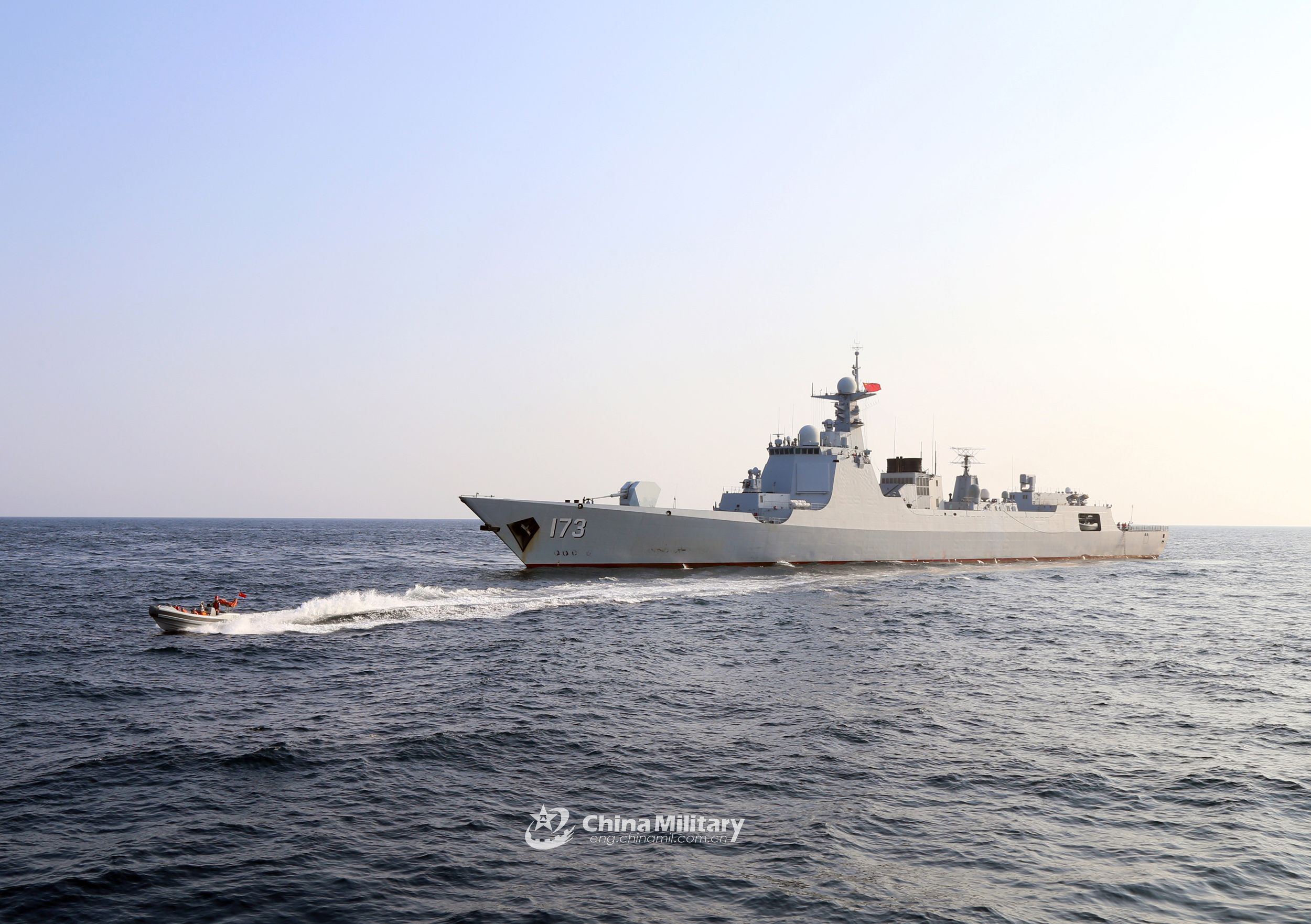 Destroyer Flotilla Conducts Three Day Training In The South China Sea Seawaves The Best Naval News Since 1995