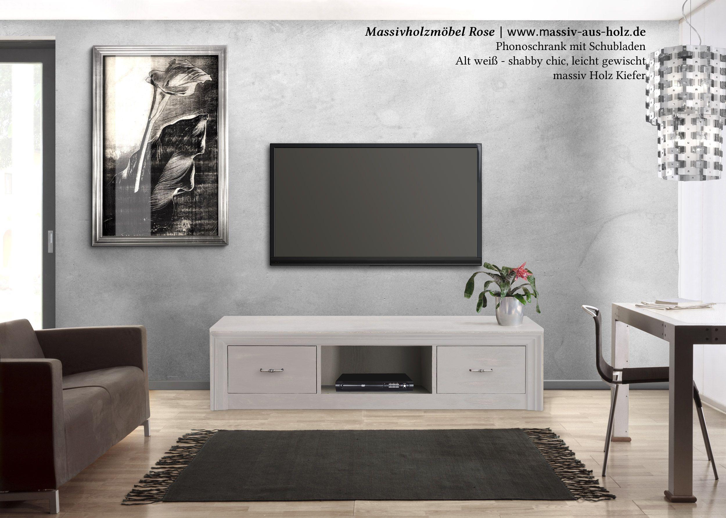 Wohnzimmermöbel Massiv ~ Wohnzimmermöbel in weiß couchtisch highboard massiv holz