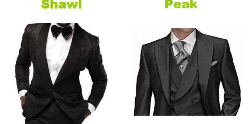 Most classic tuxedo collar styles | Men wedding attire | Pinterest ...