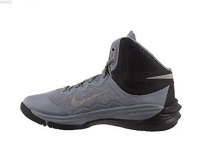 Women 158972: New Lady Nike Prime Hype Df Ii Basketball Shoes Grey Silver  Black Size