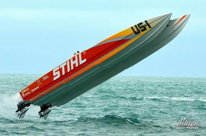 Team Stihl Offshore Racing Hydroplane Boats Offshore Boats