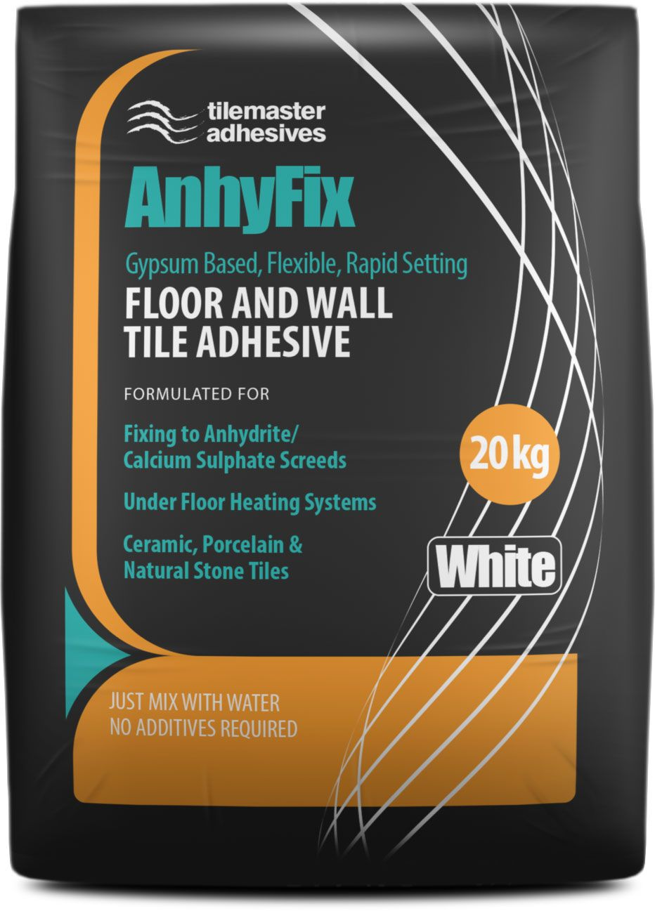 Tilemaster Adhesives Anhyfix White Visit Us In At Horncastle Tiles Limited Lincolnshire For The Best Uk Prices