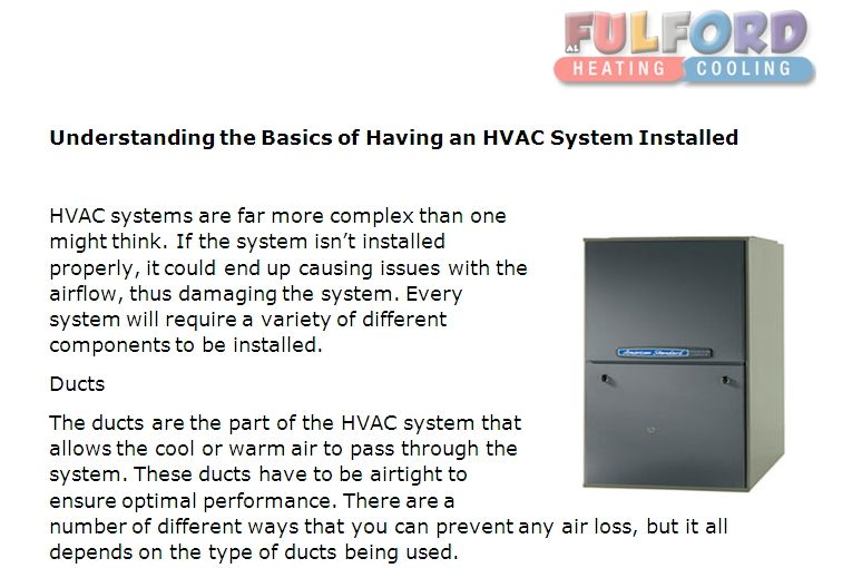 Pin By Fulford Heating Cooling On Fulford Hvac News Hvac