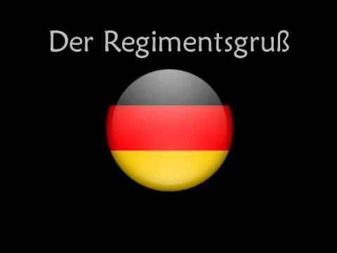 Regimentsgruss Marsch Regimental Salute March Soldatenlieder
