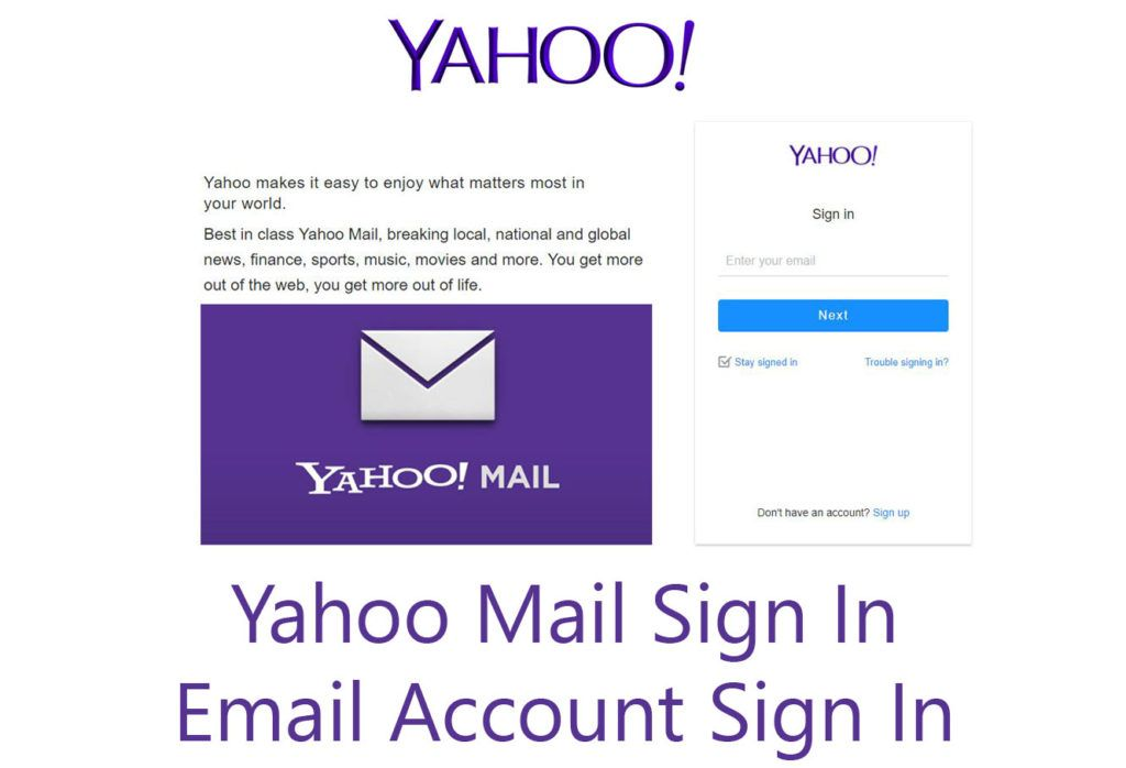 Yahoo Mail Sign In Email Account Tecng