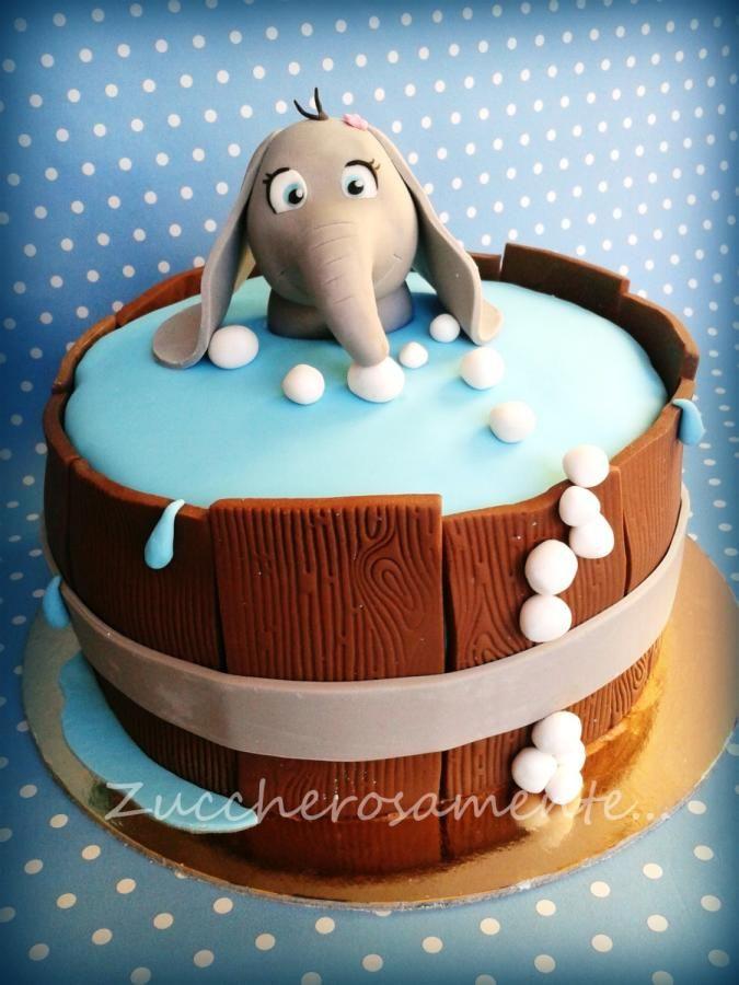 Elephant Cake : elephant, Elephant, Cake!, Cakes,, Birthday, Cupcake, Cakes