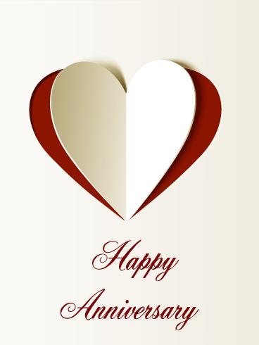 Lovely Happy Anniversary Card Birthday Greeting Cards By Davia Happy Anniversary Cards Anniversary Cards For Couple Happy Wedding Anniversary Wishes