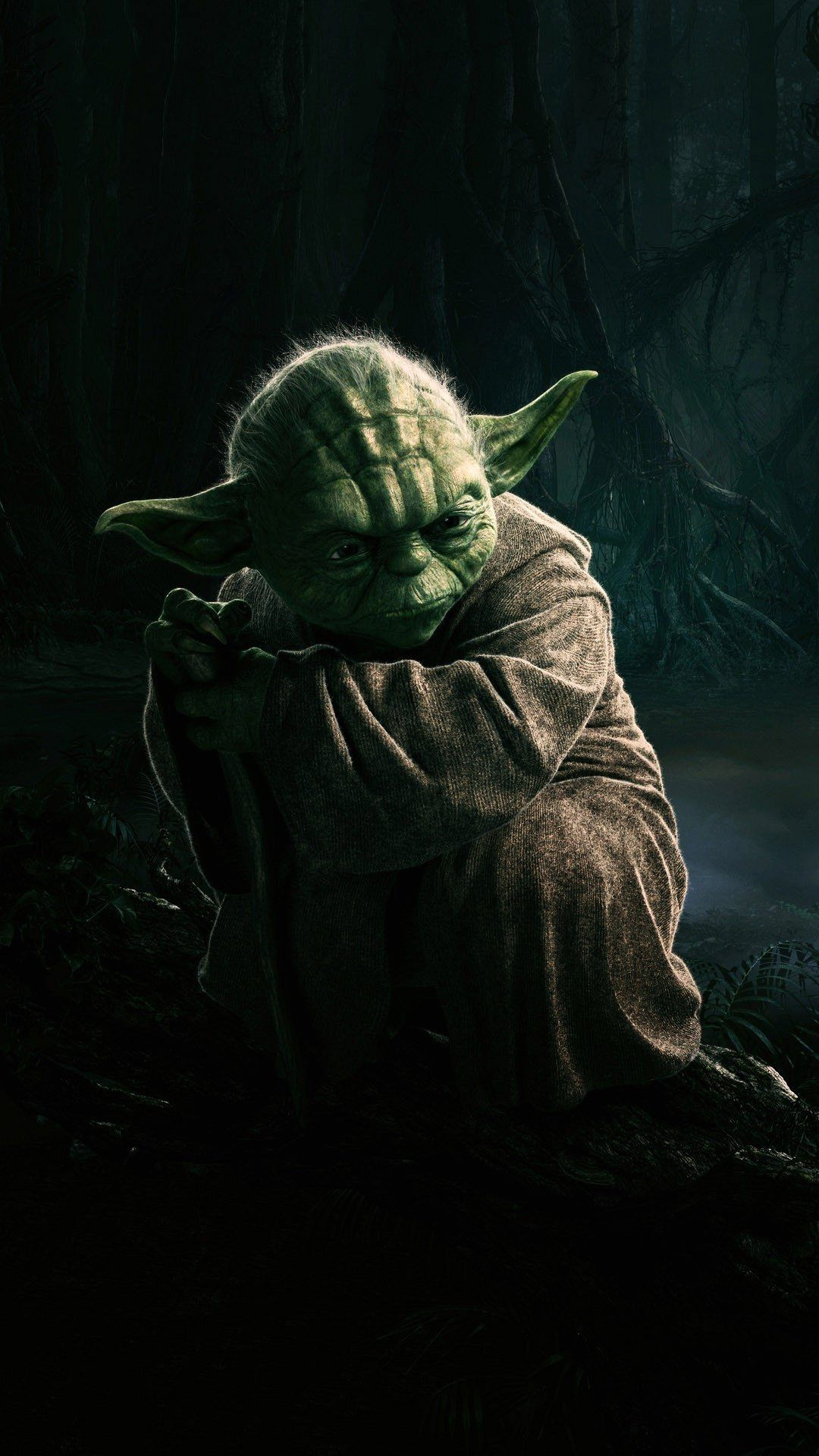 Star Wars Yoda iPhone Wallpaper   May The FORCE Be With Us   Pinterest
