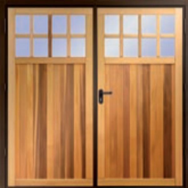 Garador Ashton Garador Side Hinged Timber The Garage Door Centre