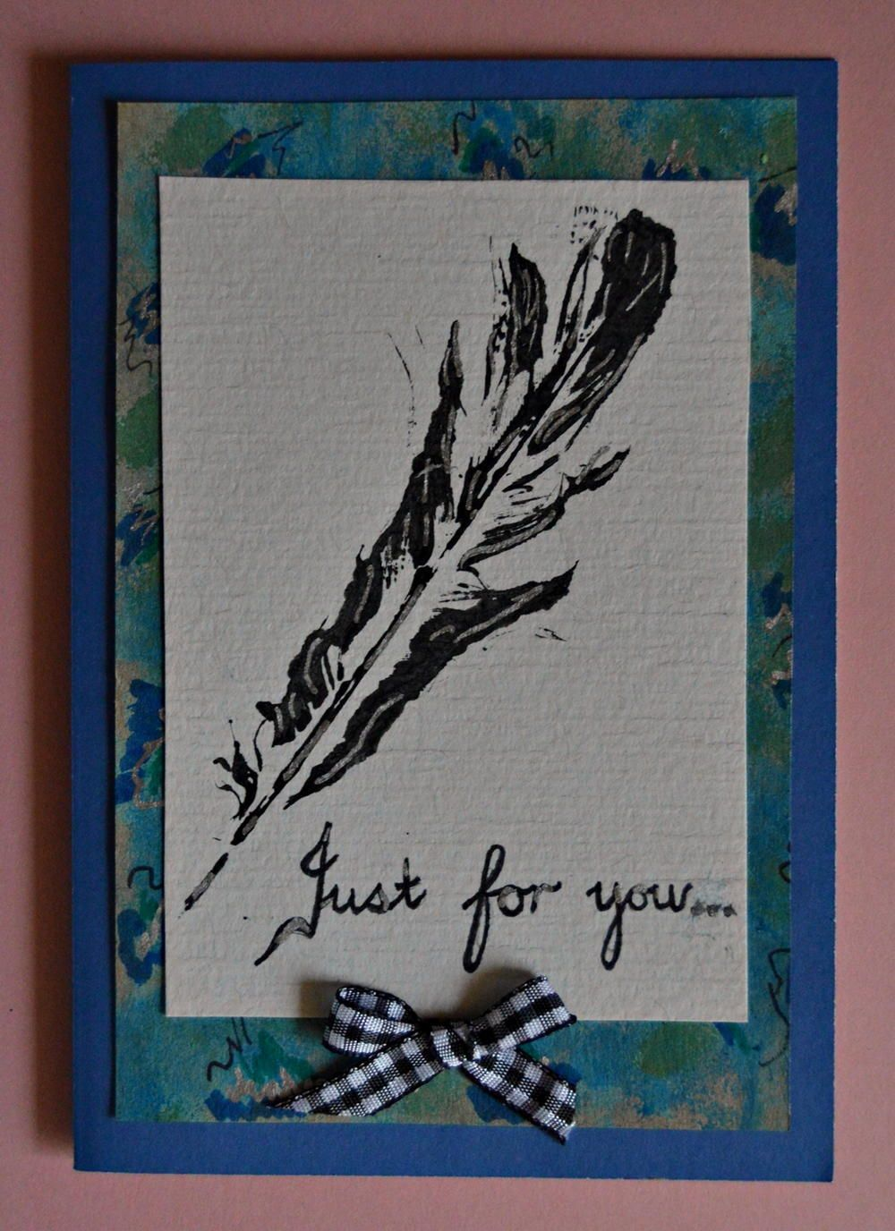 Superb Card Making Ideas Nature Part - 5: Bring Nature Into Your Card Making Ideas And Increase The Versatility Of  Your DIY Birthday Card Making Skills With This Just For You DIY Card.