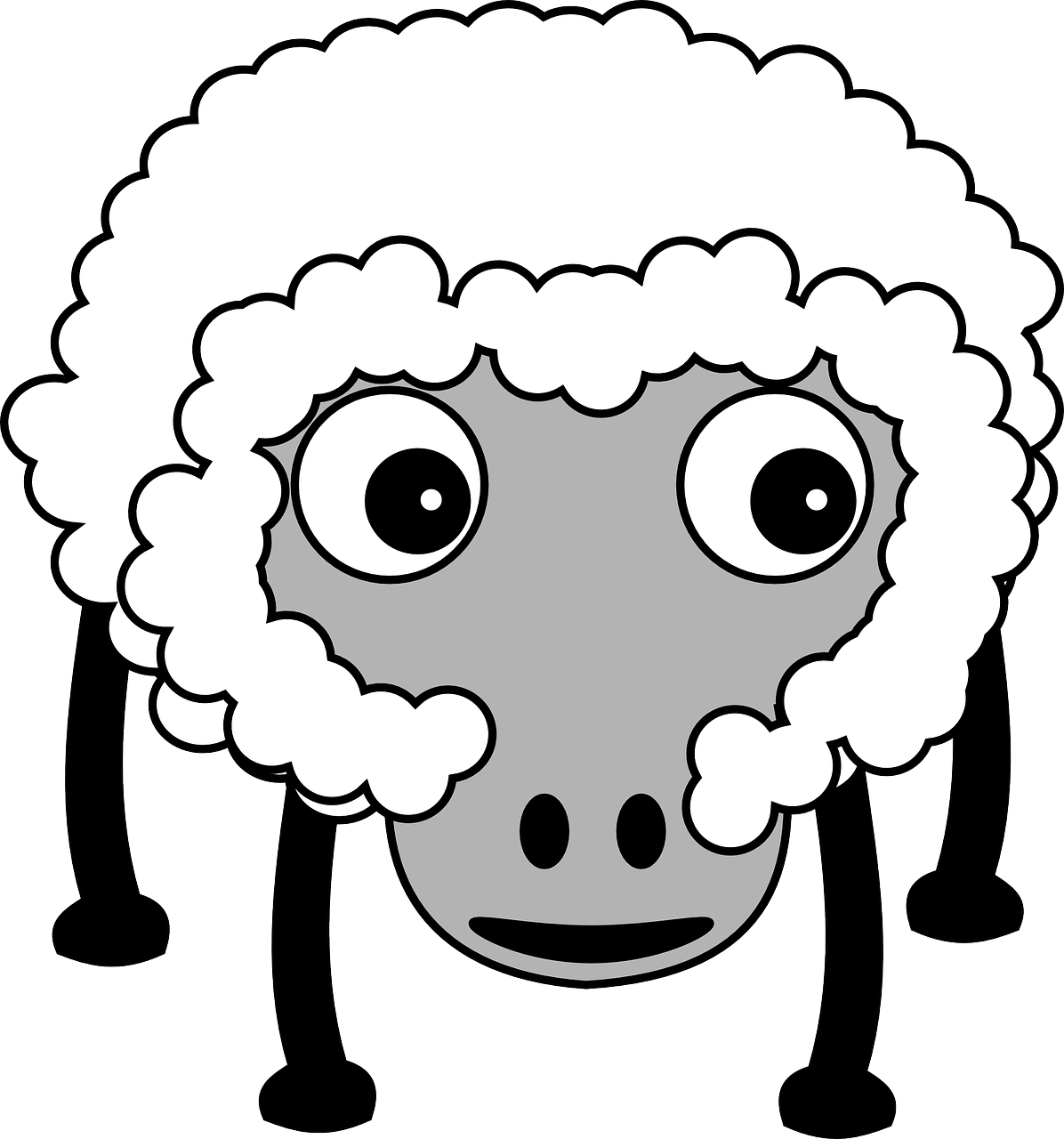 Free Image on Pixabay Sheep, Fluffy, Farm, Farm Animal