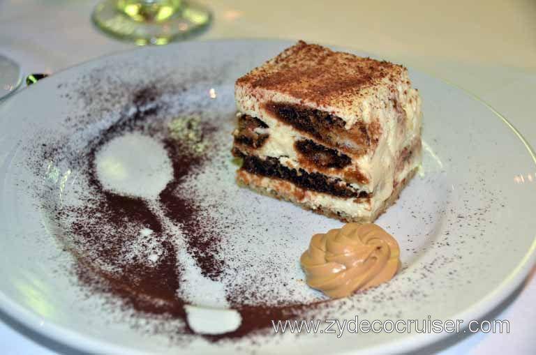 031: Carnival Magic, Main Dining Room Menus And Food Pictures, Dinner,  Tiramisu Part 82