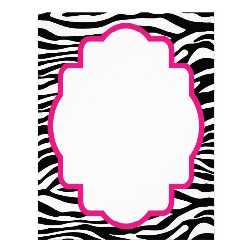 zebra border clip art free buscar con google silhouettes rh pinterest co uk
