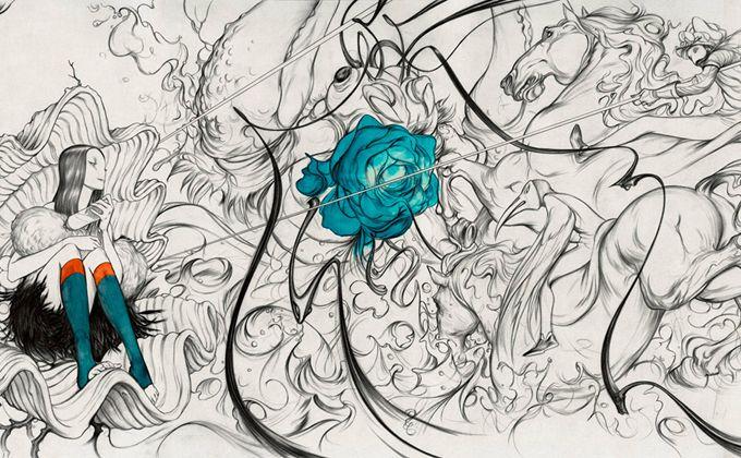 Pin By Mai Spy On Art Illustration Illustration Art Art