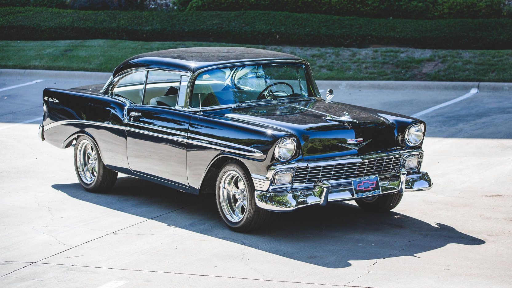 1956 Chevrolet Bel Air presented as Lot S118.1 at Dallas, TX ...