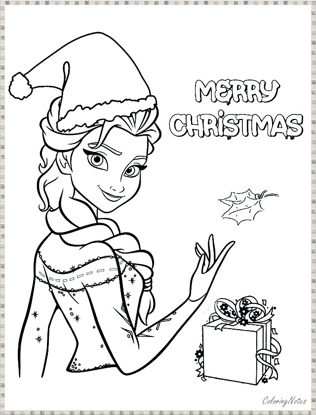 Frozen Merry Christmas Coloring Pages Free Printable Printable Christmas Coloring Pages Christmas Coloring Pages Merry Christmas Coloring Pages