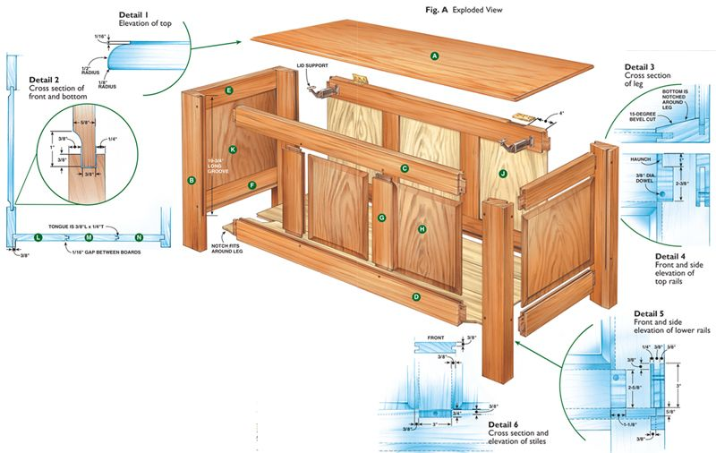 Aw Extra Shaker Blanket Chest Woodworking Plans Woodworking Projects Diy Woodworking Projects