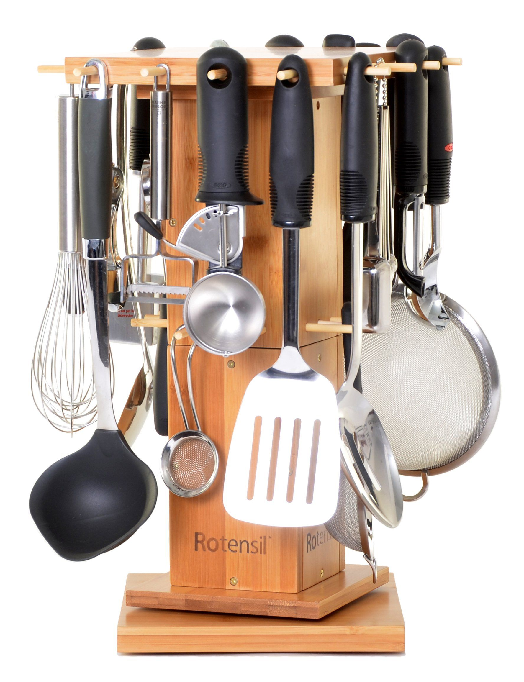 Rotating Kitchen Utensil Organizer By Rotensil Be Sure To