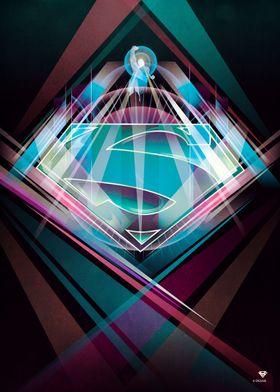 Favorite Displates Poster Prints By Katavva Displate Superman Wallpaper Logo Superman Wallpaper Metal Posters Art