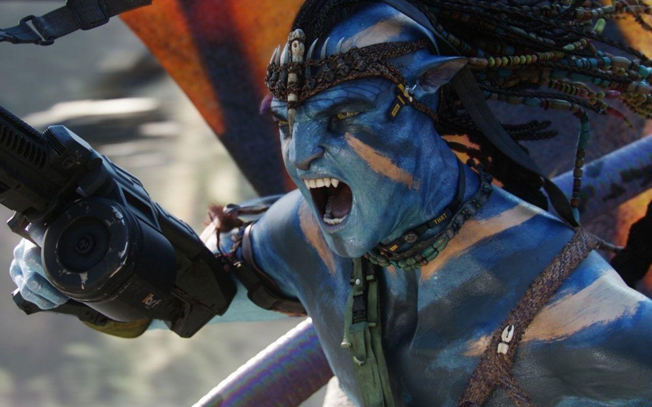 HD wallpaper: Jake Sully in War Avatar Movie, avatar illustration