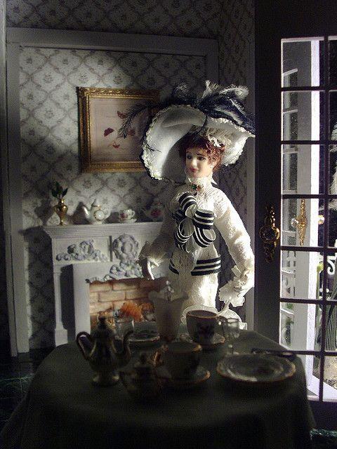 Eliza goes to tea by debsminis, via Flickr