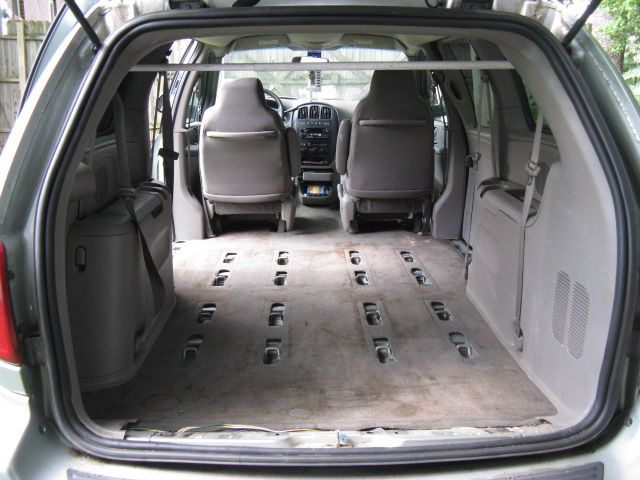dodge grand caravan 2003 former football mom van with seats removed and ready for diy camper van conversion build a camper van van home grand caravan diy camper van conversion