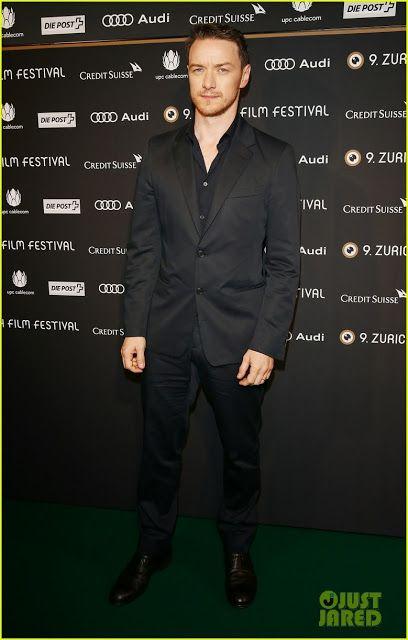Celeb Diary: James McAvoy @ 2013 Zurich Film Festival