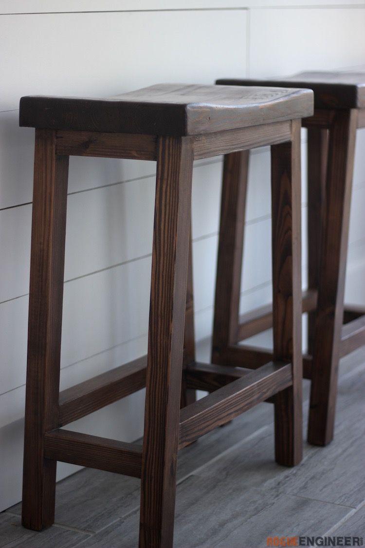 Counter height bar stool diy bar stools diy stool
