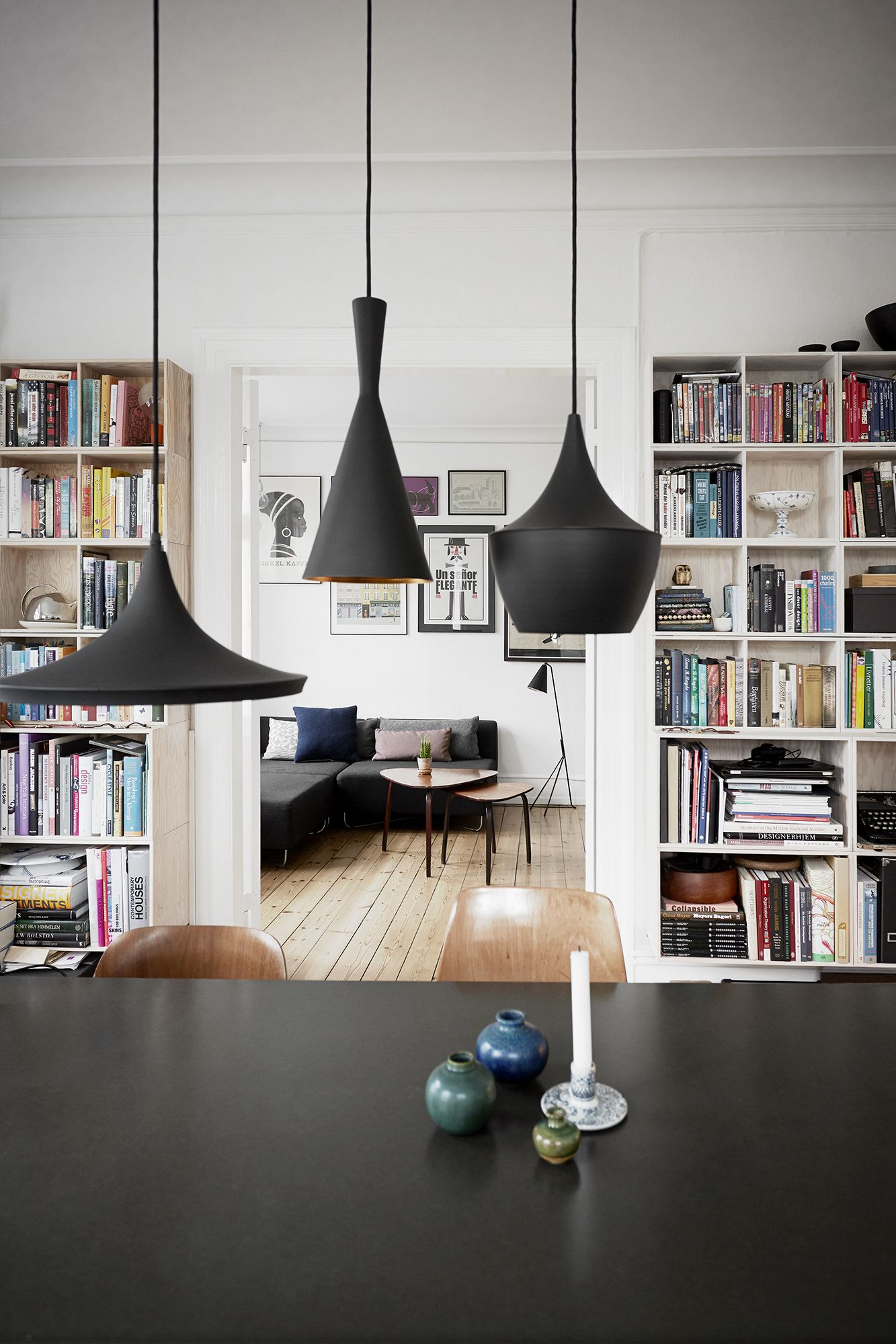 tom dixon style lighting. TOM DIXON BRASS PENDANT LIGHTS IN A DANISH HOME Tom Dixon Style Lighting D
