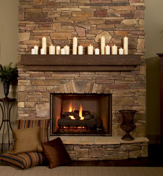 Raised Hearth Fireplace Designs: {fireplace Hearth} Great Room Detail Of The Dogwood Ridge