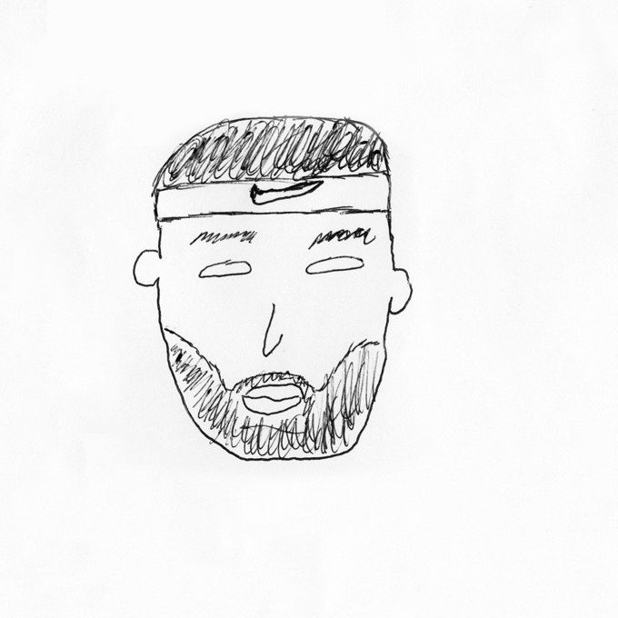 We Asked NBA Stars to Draw Themselves—And Here's What