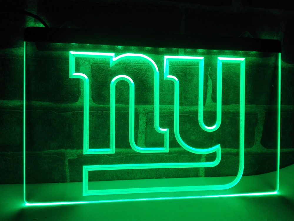 Led Sign Home Decor Awesome New York Giants Logo Bar Beer Led Neon Light Sign Home Decor Design Inspiration